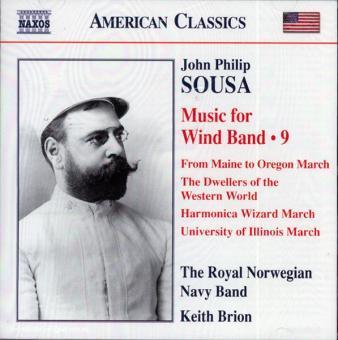 John Philip Sousa. Music for Wind Band. Teil 9 (USA)