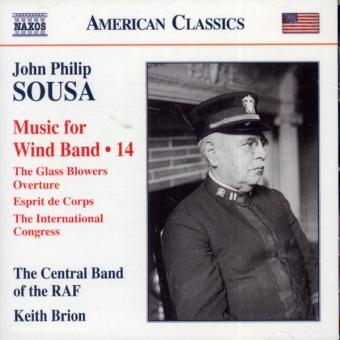 John Philip Sousa. Music for Wind Band. Teil 14 (USA)