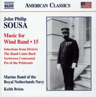 John Philip Sousa. Music for Wind Band. Teil 15