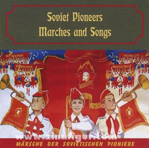 Soviet Pioneers Marches and Songs. 2 CDs