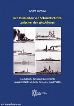 Zornow, André: Der Totalumbau von Schlachtschiffen zwischen den Weltkriegen: Eine kritische Retrospektive im Lichte damaliger Waffentechnik, Ressourcen und Politik
