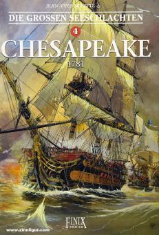 Delittle, Jean-Yves (Szenario und Zeichnungen)/Delittle, Douchka (Koloroieriung): Die grossen Seeschlachten. Band 4: Chesapeak 1781