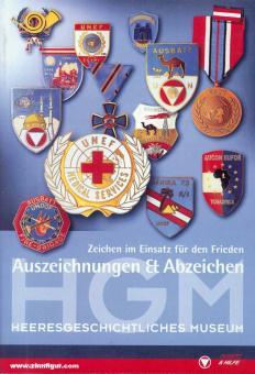 Hatschek, Christoph/Steiner, Peter: Zeichen im Einsatz für Frieden. Auszeichnungen & Abzeichen