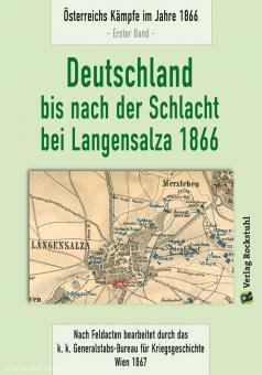 Deutschland bis nach der Schlacht bei Langensalza 1866