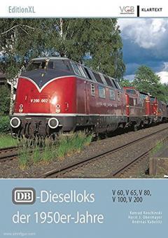 Koschinski, Konrad/Obermayer, Horst J./Kabelitz, A.: DB-Dieselloks der 1950er-Jahre. V 60, V 65, V 80, V 100, V 200