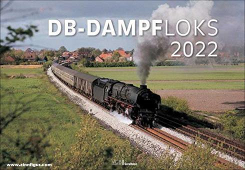 DB-Dampfloks. Kalender 2021