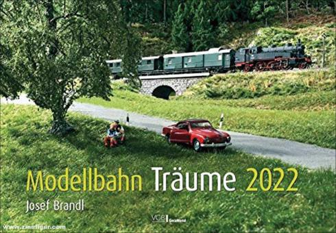 Brandl, Josef: Modellbahn-Träume 2022