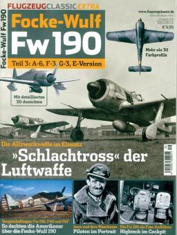 Flugzeug Classic Extra. Focke-Wulf Fw 190. Teil 3: A-6, F-3, G-3, E-Version