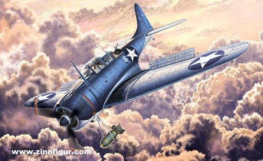 """SBD-2 Dauntless """"Battle of Midway"""""""