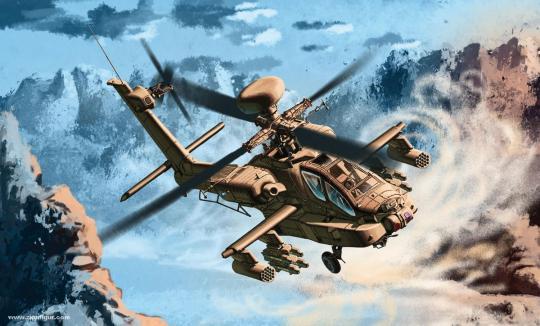 "AH-64D Apache Longbow Block II ""US Army"""