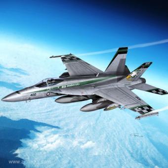 """F/A-18E Super Hornet """"Chippy Ho"""""""