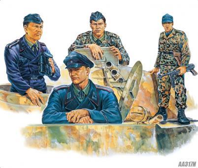Deutsche Panzerbesatzung