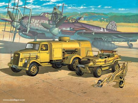 Opel Tankwagen & Schwimmwagen