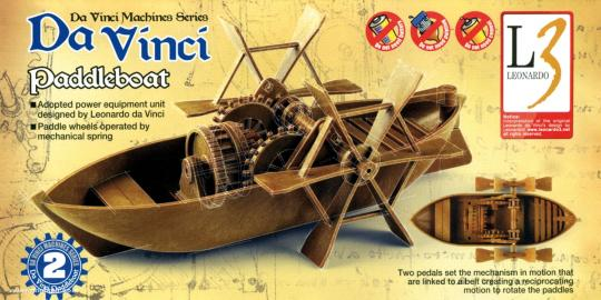 Da Vinci Paddelboot