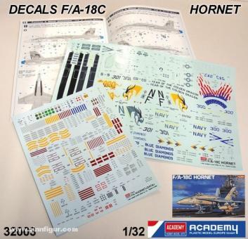 Decals F/A-18 Golden Dragon