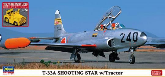 T-33A Shooting Star mit Traktor