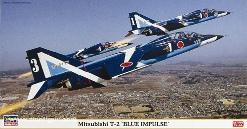"Mitsubishi T-2 ""Blue Impulse"""