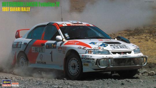 "Mitsubishi Lancer Evo IV ""1997 Safari Rally"""