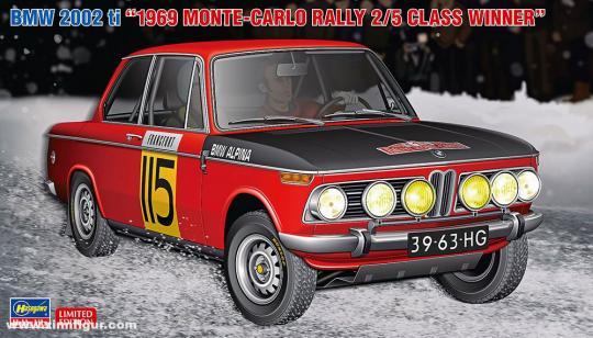 "BMW 2002 ti ""Monte Carlo Rally 1969"""