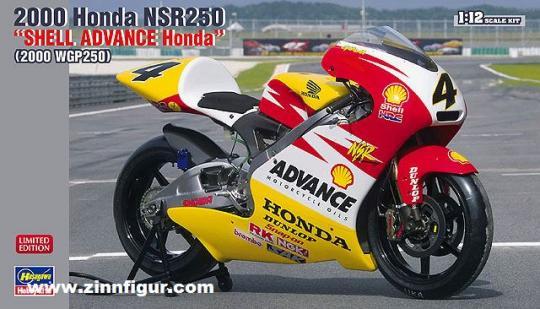 """2000 Honda NSR250 """"Shell Advance Honda"""""""