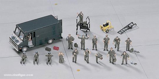 US Pilot & Ground Crew Set
