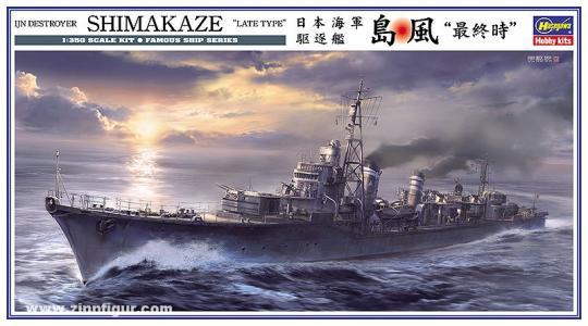 Zerstörer IJN Shimakaze
