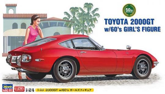 Toyota 2000GT mit Frau