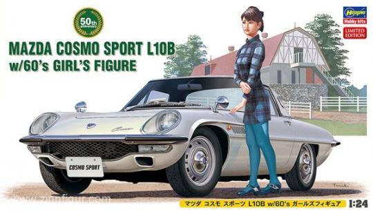 Mazda Cosmo Sport L10B with Figure