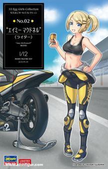 "Amy McDonnel ""Biker Girl"" - EGG Girls No. 02"