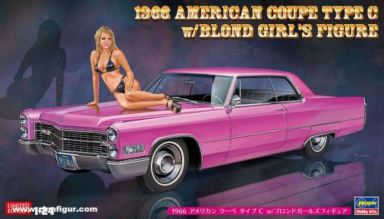 1966 American Coupe Typ C with Figure