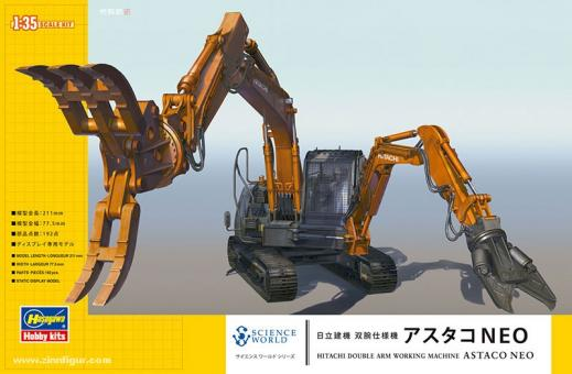 Hitachi ASTACO Double Front Work Machine