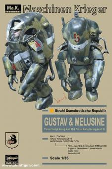 P.K.A. Ausf.G Gustav & Ausf.M Melusine