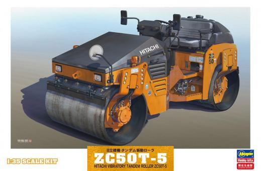 Hitachi ZC50T-5 Vibrations-Straßenwalze