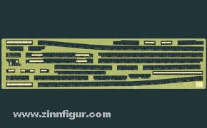 Agano Etched Parts Part A