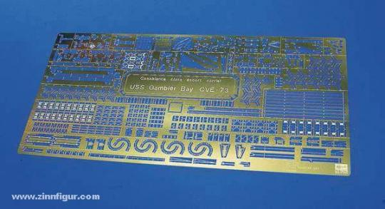 Etched Parts Super USS Gambier Bay