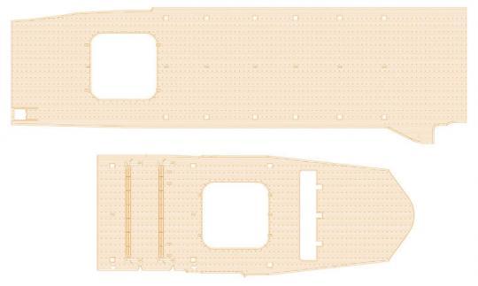 IJN Junyo Wooden Deck