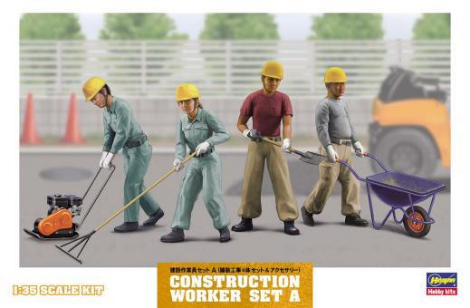 Bauarbeiter Set A