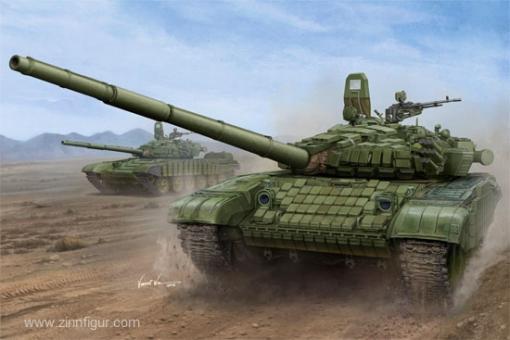 T-72B/B1 mit Kontakt-1 Panzerung
