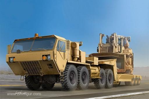 M983A2 HEMTT Tractor mit M870A1 Anhänger
