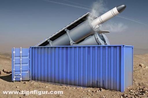 3M54 Club-k mit Kh-35UE in 20 Fuß Container