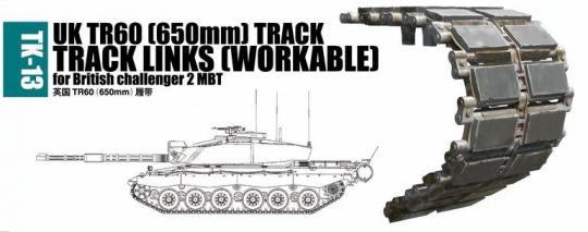 UK TR60 (650 mm) Panzerketten für Challenger 2