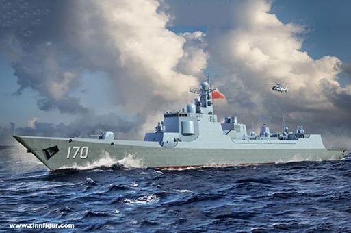 PLA Navy Type 052C Zerstörer