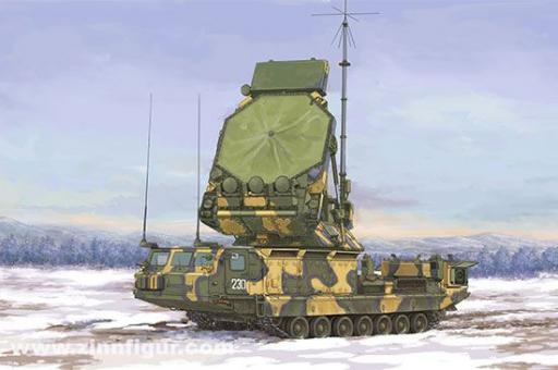S-300V 9S32 Feuerleitradar