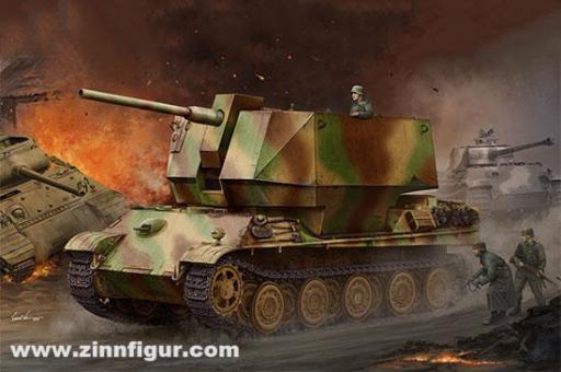 Flakpanther mit 8,8 cm Flak 36/37