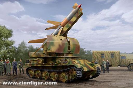 Flakpanther mit Flakrakete Rheintochter I