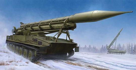 2P16 Starter mit 2k6 Luna (Frog-5) Rakete