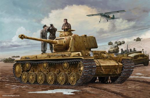Pz.Kpfm. KV-1 756(r) Panzer