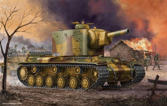 Pz.Kpfm. KV-2 754(r) Panzer