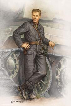 Russischer Panzersoldat, 1942