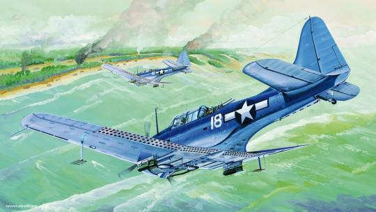 SBD-5A 24B Dauntless